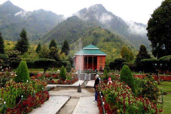 chashma shahi Green Kashmir Travels